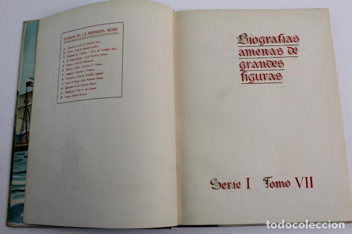 Libros de segunda mano: L-950. LEGAZPI. BIOGRAFIAS AMENAS DE GRANDES FIGURAS. SERIE I TOMO VII. - Foto 2 - 190202296
