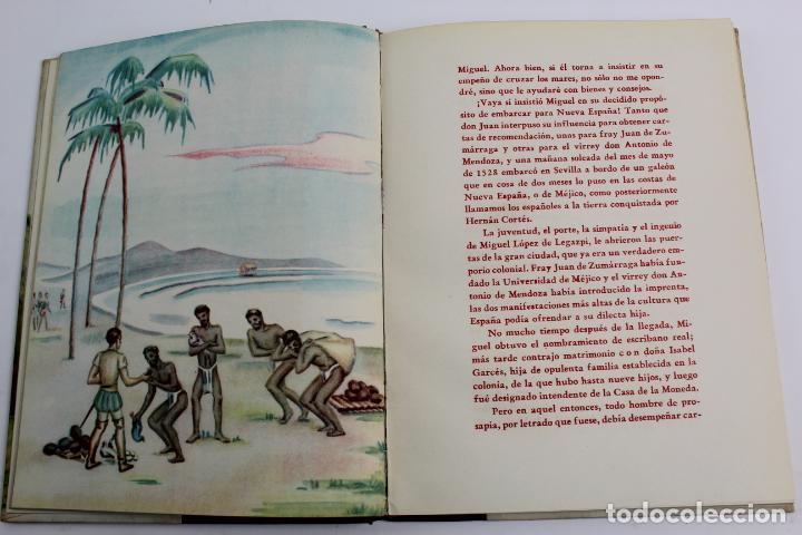 Libros de segunda mano: L-950. LEGAZPI. BIOGRAFIAS AMENAS DE GRANDES FIGURAS. SERIE I TOMO VII. - Foto 3 - 190202296