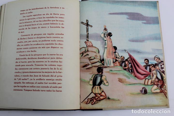 Libros de segunda mano: L-950. LEGAZPI. BIOGRAFIAS AMENAS DE GRANDES FIGURAS. SERIE I TOMO VII. - Foto 7 - 190202296