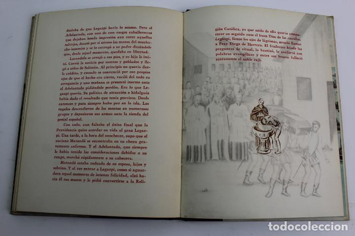 Libros de segunda mano: L-950. LEGAZPI. BIOGRAFIAS AMENAS DE GRANDES FIGURAS. SERIE I TOMO VII. - Foto 8 - 190202296