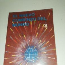 Libros de segunda mano: TRIGUEIRINHO, EL NUEVO COMIENZO DEL MUNDO. Lote 190306880