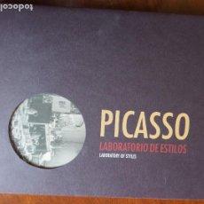 Libros de segunda mano: PICASSO. LABORATORIO DE ESTILOS. LABORATORY OF STYLES. 1ª EDICIÓN. 2007. FUNDACIÓN BARRIÉ.. Lote 190348097