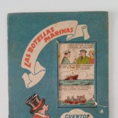 Libros de segunda mano: CUENTOS QUE SE PUEDEN PINTAR. LAS BOTELLAS MARINAS. Nº 6. COLECCION PINTURITAS. EDIT ROMA. W. Lote 190354173