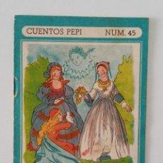 Libros de segunda mano: CUENTOS PEPI. LOS DONES DEL HADA. NUMERO 45. W. Lote 190354772