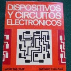 Libros de segunda mano: DISPOSITIVOS Y CIRCUITOS ELECTRÓNICOS ANAYA. Lote 190428027