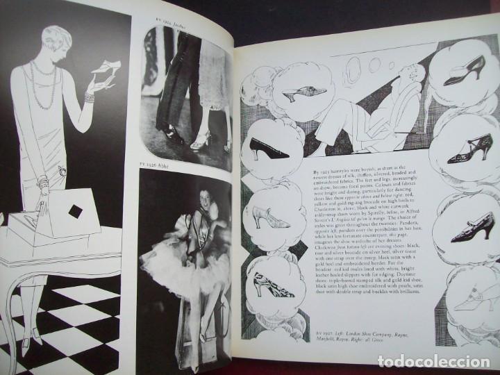 Libros de segunda mano: SHOES IN VOGUE SINCE 1910. CHRISTINA PROBERT. Año 1981. - Foto 4 - 190456533