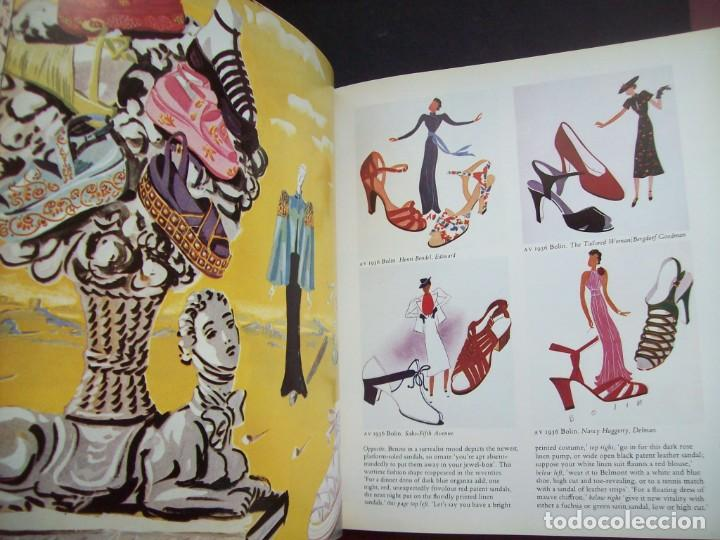 Libros de segunda mano: SHOES IN VOGUE SINCE 1910. CHRISTINA PROBERT. Año 1981. - Foto 5 - 190456533