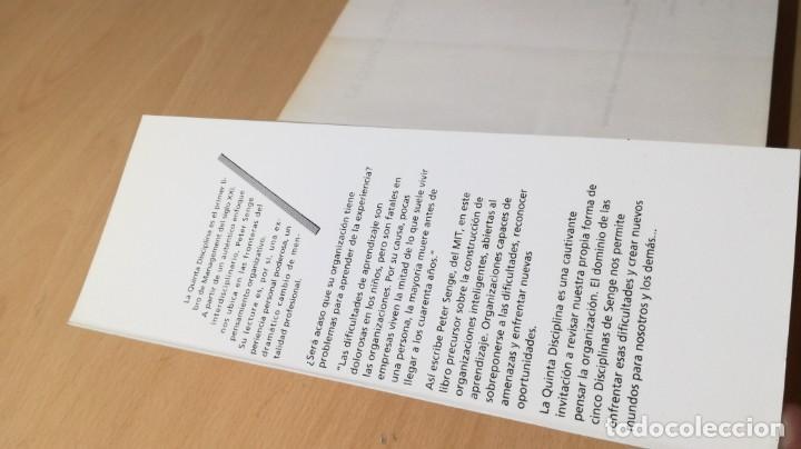 Libros de segunda mano: LA QUINTA DISCIPLINA - MANAGEMENT Y ORGANIZACIÓN - PETER M SENGE -GRANICA/ TXT54 - Foto 4 - 190480947