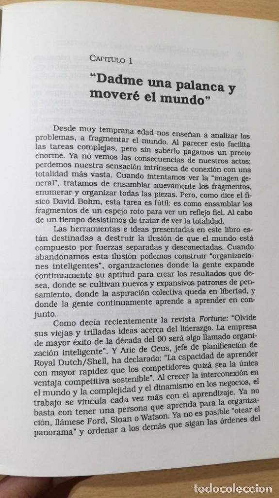 Libros de segunda mano: LA QUINTA DISCIPLINA - MANAGEMENT Y ORGANIZACIÓN - PETER M SENGE -GRANICA/ TXT54 - Foto 10 - 190480947