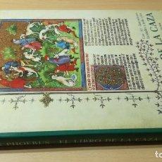 Libros de segunda mano: CODICE EL LIBRO DE LA CAZA - FACSIMIL - BIBLIOFILIA VELAZQUEZ - GASTON XIV - VER FOTOS. Lote 190491001