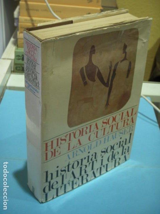 HISTORIA SOCIAL DE L'ART I LA LITERATURA (I) - ARNOLD HAUSER - TRAD. JORDI SOLE TURA - 1966, 1ª ED. (Libros de Segunda Mano - Bellas artes, ocio y coleccionismo - Otros)