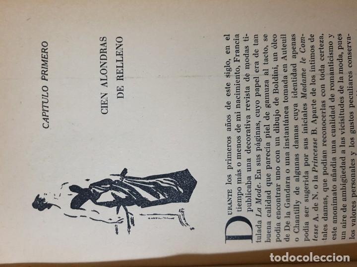 Libros de segunda mano: El Espejo de la Moda por Cecil Beaton en 1ª edición del año 1954. edita AHR. una joya imprescindible - Foto 5 - 190568107