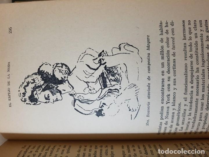 Libros de segunda mano: El Espejo de la Moda por Cecil Beaton en 1ª edición del año 1954. edita AHR. una joya imprescindible - Foto 8 - 190568107