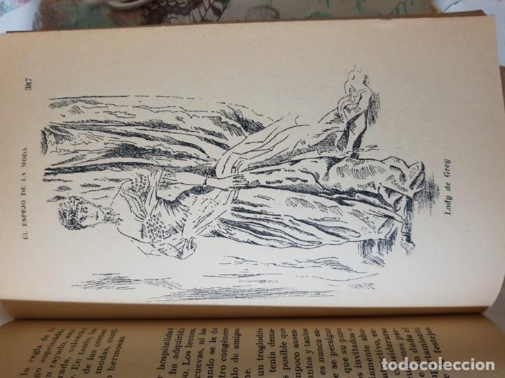 Libros de segunda mano: El Espejo de la Moda por Cecil Beaton en 1ª edición del año 1954. edita AHR. una joya imprescindible - Foto 10 - 190568107