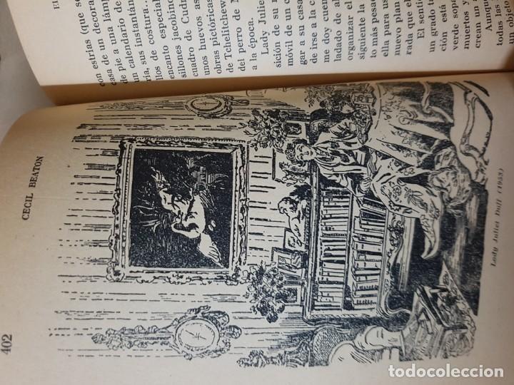 Libros de segunda mano: El Espejo de la Moda por Cecil Beaton en 1ª edición del año 1954. edita AHR. una joya imprescindible - Foto 12 - 190568107