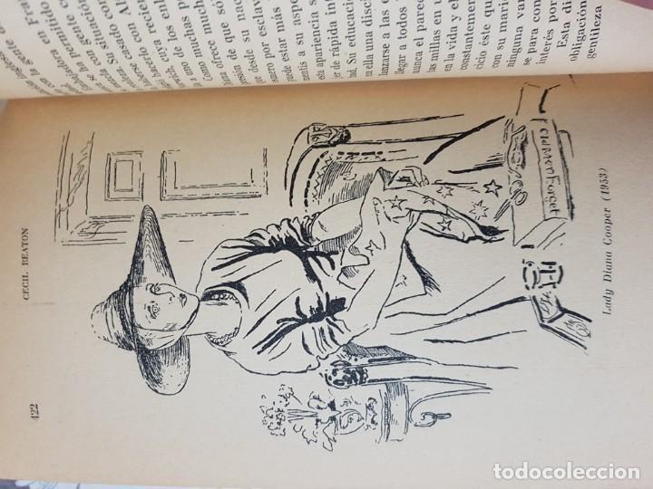 Libros de segunda mano: El Espejo de la Moda por Cecil Beaton en 1ª edición del año 1954. edita AHR. una joya imprescindible - Foto 13 - 190568107