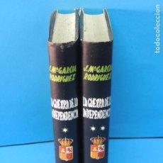 Libros de segunda mano: LA GUERRA DE LA INDEPENDENCIA.- (2 VOL. OBRA COMPLETA).-JOSE Mª GARCIA RODRIGUE. Lote 190584195