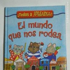 Libros de segunda mano: EL MUNDO QUE NOS RODEA DE ROSEMARY WELLS. COLECCION RASCACIELOS. EDITORIAL EVEREST. Lote 190622608