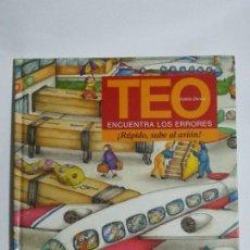 Livros em segunda mão: TEO ENCUENTRA LOS ERRORES. RÁPIDO, SUBE AL AVIÓN. TIMUN MAS. Lote 190624641