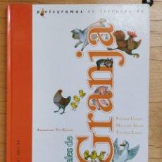 Libros de segunda mano: PICTOGRAMAS EN LECTURAS DE ANIMALES DE GRANJA ** CANDEL, SOLEDAD - GARÍN, MERCEDES - LÓPEZ, TRINID. Lote 190696252