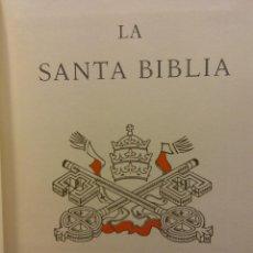 Libros de segunda mano: LA SANTA BIBLIA. EDITORIAL PLANETA S.A.. Lote 190703810