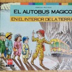 Libros de segunda mano: EL AUTOBÚS MAGICO - EN EL INTERIOR DE LA TIERRA** JOANNA COLE / BRUCE DEGEN . Lote 190706515