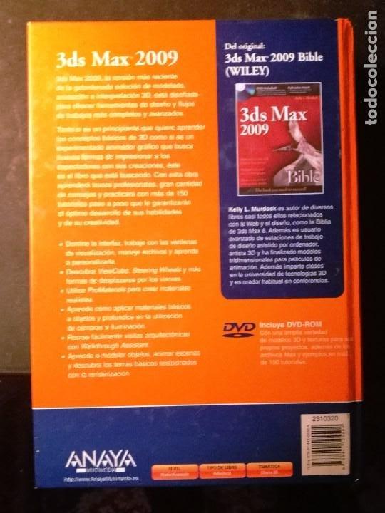 Libros de segunda mano: 3 DS MAX 2009 (NO INCLUYE DVD-ROM) - Foto 2 - 190761382