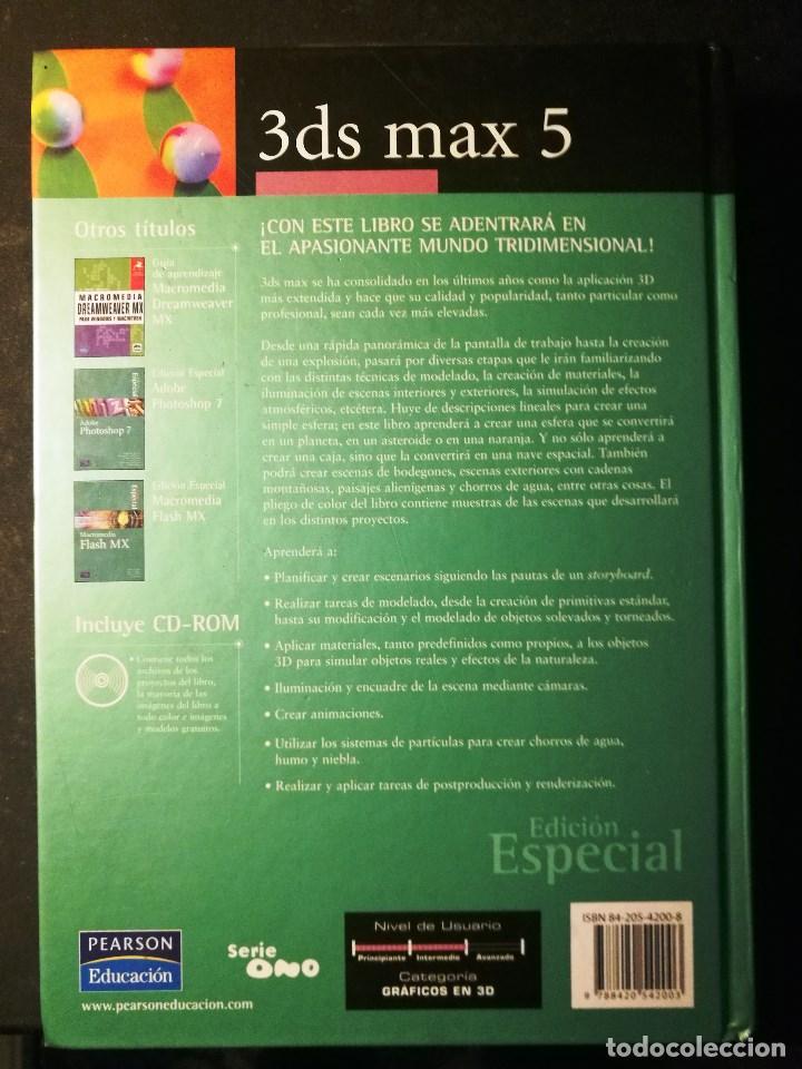 Libros de segunda mano: 3 DS MAX 5 (NO INCLUYE CD-ROM) - Foto 2 - 190761692