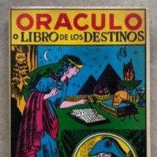Libros de segunda mano: ORÁCULO NOVISIMO O SEA EL LIBRO DE LOS DESTINOS. EDITADO EN MÉXICO EN 1968.. Lote 146121202