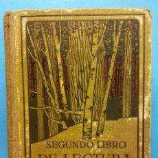 Libri di seconda mano: SEGUNDO LIBRO DE LECTURA. SEXTA EDICIÓN. S.A.I.G. SEIX BARRAL HNOS. BARCELONA, 1930. Lote 190793772