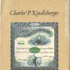 Libros de segunda mano: KINDLEBERGER : HISTORIA FINANCIERA DE EUROPA (CRÍTICA, 1988). Lote 190848752
