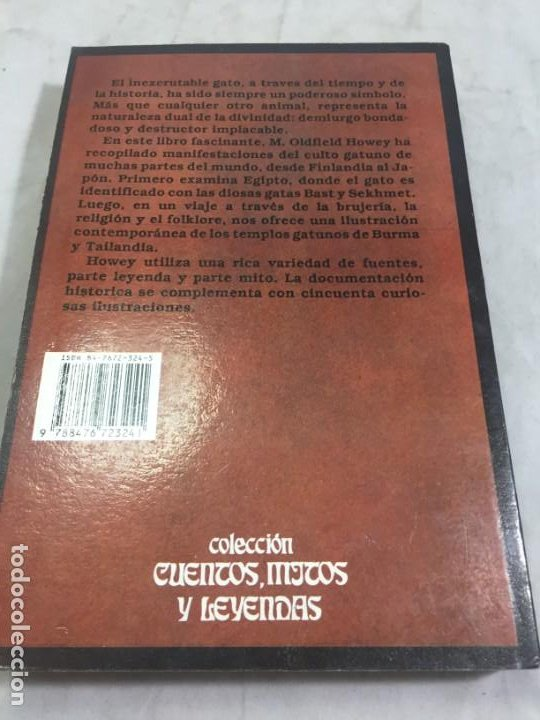 Libros de segunda mano: EL GATO EN LA MITOLOGÍA, LA RELIGIÓN Y LA MAGIA de M. Oldfield Howey 1991 - Foto 11 - 190903748