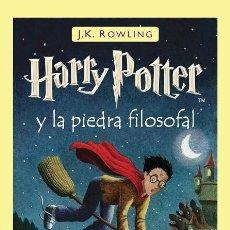Libros de segunda mano: HARRY POTTER Y LA PIEDRA FILOSOFAL. Lote 190923653