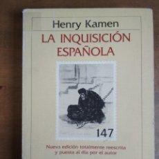 Libros de segunda mano: HENRY KAMEN - LA INQUISICIÓN ESPAÑOLA. Lote 191009271