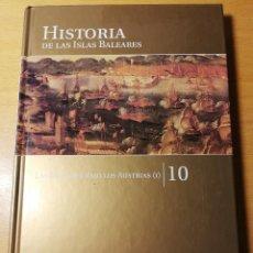 Libros de segunda mano: LA EDAD MODERNA. LAS BALEARES BAJO LOS AUSTRIAS (I) HISTORIA DE LAS ISLAS BALEARES TOMO 10. Lote 191020943
