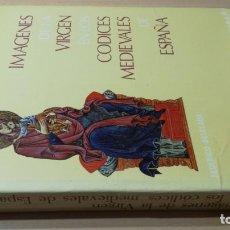 Libros de segunda mano: IMÁGENES DE LA VIRGEN EN LOS CODICES MEDIEVALES DE ESPAÑA - FEDERICO DECLAUX/ G 605. Lote 191023372