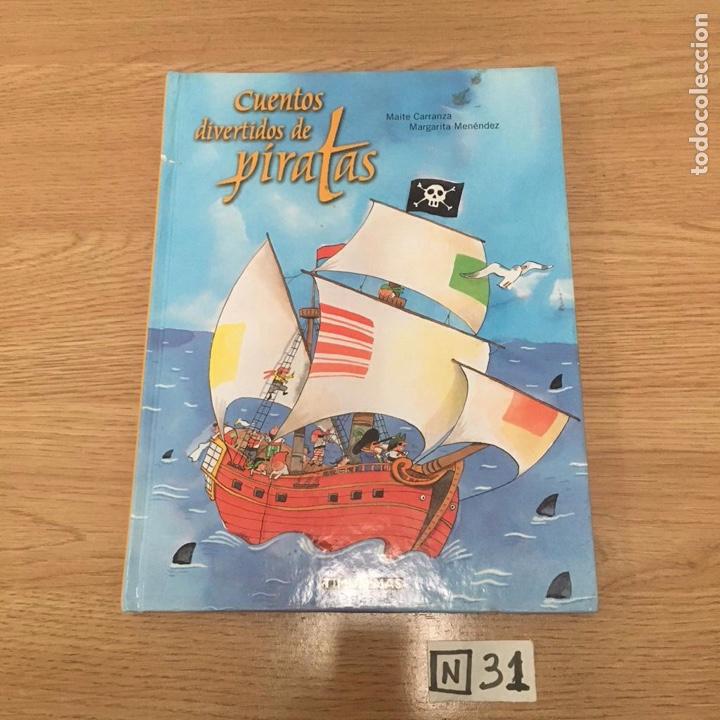 CUENTOS DIVERTIDOS DE PIRATAS (Libros de Segunda Mano - Literatura Infantil y Juvenil - Otros)