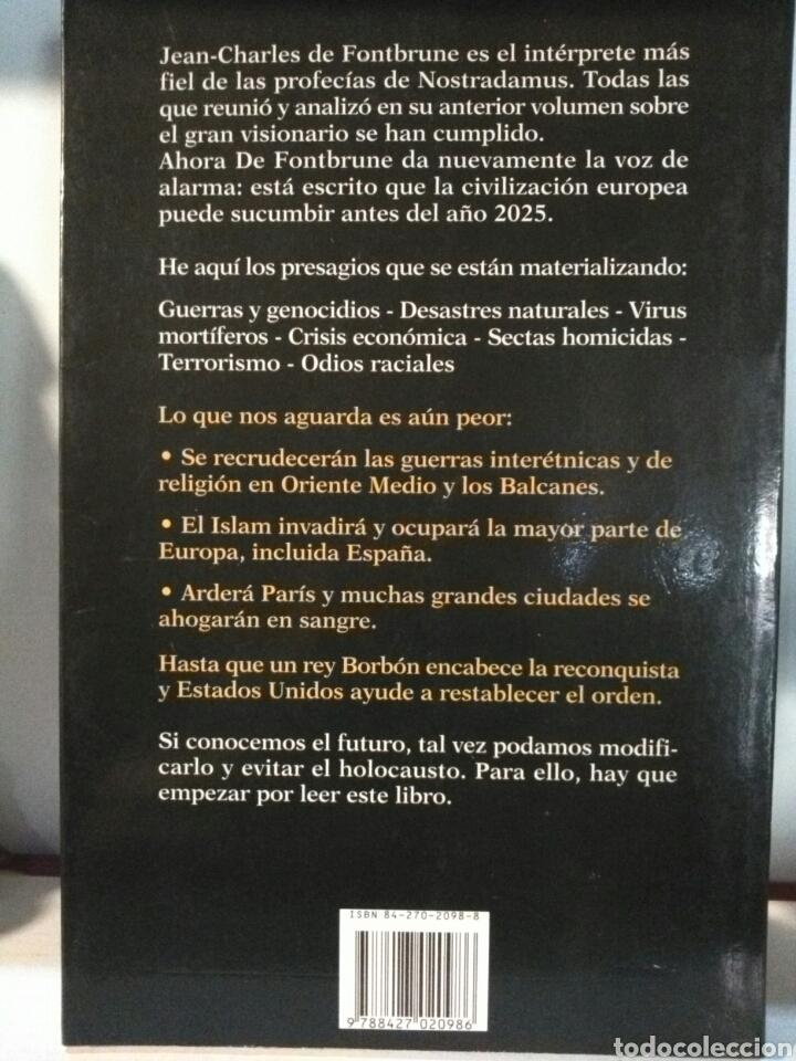 Libros de segunda mano: NOSTRADAMUS HASTA EL AÑO 2025. - Foto 2 - 191138300
