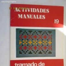 Libros de segunda mano: CUADERNO DE ACTIVIDADES MANUALES - TRAMADO DE CINTAS DE PAPEL - Nº 19 - SALVATELLA. Lote 191206232