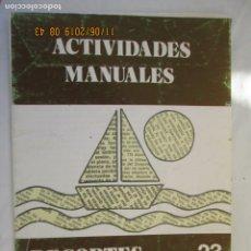 Libros de segunda mano: ACTIVIDADES MANUALES - SALVATELLA - Nº 23 - RECORTES DE PERIÓDICO. . Lote 191207427