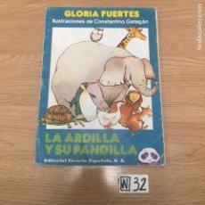 Libros de segunda mano: LA ARDILLA Y SU PANDILLA. Lote 191208093