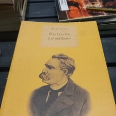 Libros de segunda mano: MAURIZIO FERRARIS NIETZSCHE Y EL NIHILISMO. Lote 191210817