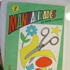 Libros de segunda mano: MANUALIDADES EN PAPEL Y CARTÓN II - Nº 3 - SALVATELLA. . Lote 191211368