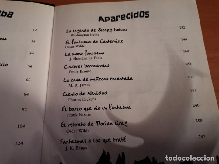 Libros de segunda mano: MAGNÍFICO TOMO HISTORIA DE FANTASMAS RELATOS DE TERROR Y MISTERIO MIRAR FOTOS - Foto 4 - 191216622
