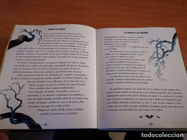 Libros de segunda mano: MAGNÍFICO TOMO HISTORIA DE FANTASMAS RELATOS DE TERROR Y MISTERIO MIRAR FOTOS - Foto 10 - 191216622