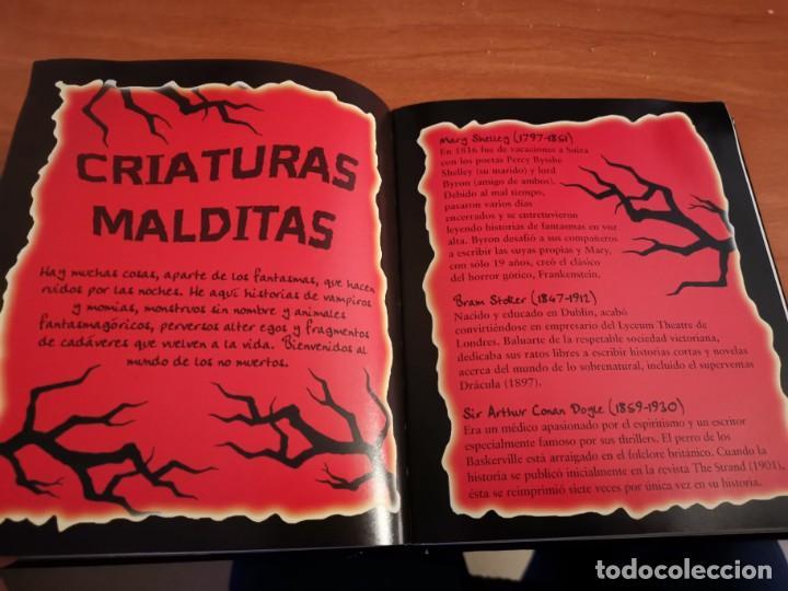 Libros de segunda mano: MAGNÍFICO TOMO HISTORIA DE FANTASMAS RELATOS DE TERROR Y MISTERIO MIRAR FOTOS - Foto 12 - 191216622