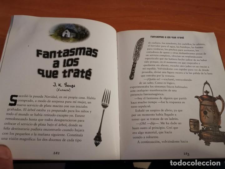 Libros de segunda mano: MAGNÍFICO TOMO HISTORIA DE FANTASMAS RELATOS DE TERROR Y MISTERIO MIRAR FOTOS - Foto 13 - 191216622