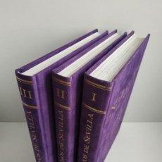 Libros de segunda mano: NAZARENOS DE SEVILLA, TOMOS I, II Y III / EDICIONES TARTESSOS. Lote 191223455