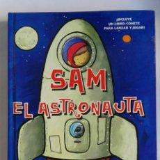 Libros de segunda mano: SAM EL ASTRONAUTA, UNA AVENTURA EN EL ESPACIO, FALTA EL LIBRO-COHETE. Lote 191245316