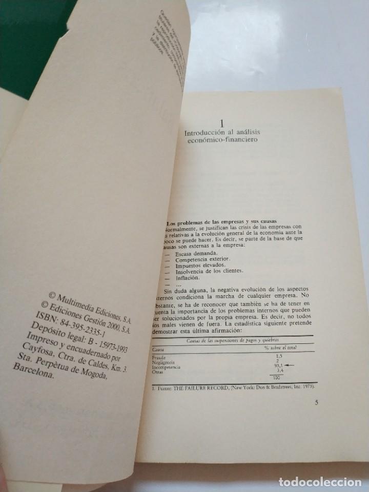 Libros de segunda mano: ANALISIS DE BALANCES.- ORIOL AMAT - Foto 2 - 191267313